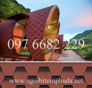 Tấm lợp cho mái bungalow, tấm lợp cho mái homestay, tấm lợp cho mái