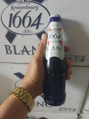 Bia Blanc 1664 Nhập Khẩu Pháp, 330ml, 24 chai