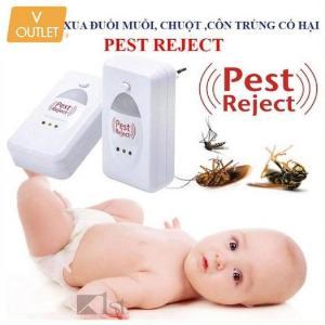 Thiết bị đuổi các loại côn trùng gây hại bằng sóng âm Pest Reject