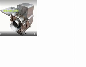 Máy ép cá thác lác CR300, máy tách xương cá tự động CR300