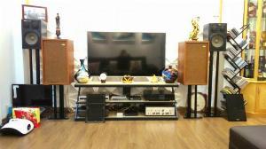 Bán cặp loa nghe nhạc của mỹ: Electro Voicc-E-V TWO (16,5 tr), AmplyLuxman 505x (5,5 tr) -Hà Nội