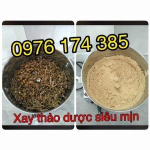 Máy xay bột dược liệu, xay bột trầm hương 2.5kg inox 100%