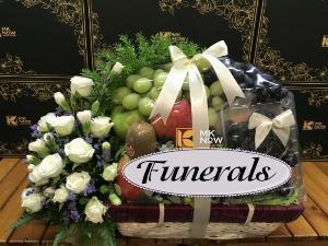 Giỏ trái cây viếng đám tang - FSNK230