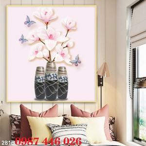 2021-03-03 07:58:54  1  Gạch tranh 3d, tranh ốp tường bình hoa Hp6022 1,200,000
