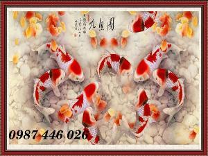 2021-03-03 08:03:20  3  Gạch tranh 3d cửu ngư quần hội HP3488 1,200,000