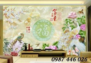 2021-03-03 08:10:25  8  Tranh gạch men ốp tường 3d, tranh trang trí, gach hoa văn HP7022 1,200,000
