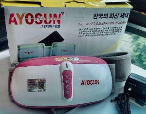 Đai massage giảm béo bụng đùi bắp tay cao cấp Hàn Quốc Ayosun