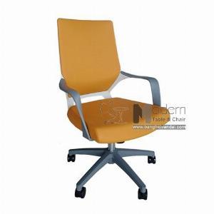 Ghế văn phòng lưng trung bọc nệm chân nhựa giá rẻ tại HCM