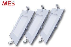 Đèn led panel âm trần 12w vuông