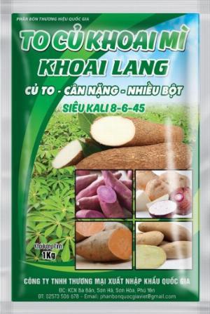 Phân bón lá To Củ Khoai Mì khoai Lang 1kg