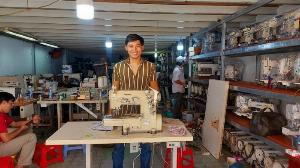 2021-03-03 14:30:08 Cần bán máy kansai , viền, đánh bông cũ chính hãng giá rẻ 7,500,000