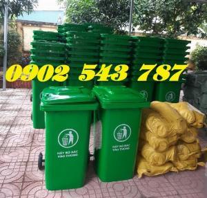 Cung cấp thùng rác 240 lít công cộng tại sài gòn