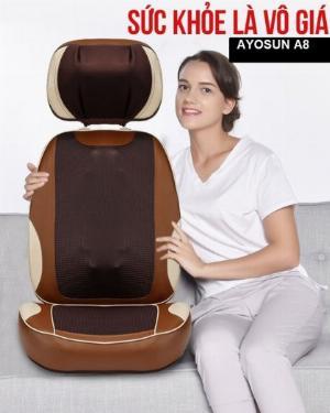 Ghế massage toàn thân theo huyệt đạo Ayosun Hàn Quốc thế hệ mới
