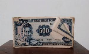 Gạt tàn ngân hàng tín nghĩa trước 1975 hàng chuẩn xưa số đẹp