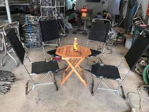 Bàn ghế cafe xếp lưới vỉa hè giá rẻ