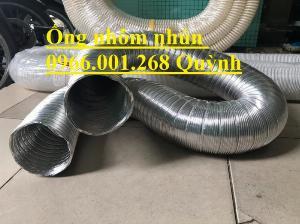 Ống nhôm nhún, ống thông gió chịu nhiệt phi 100,phi 125,phi 150,phi 200,phi 250,phi 300 giá bao tốt