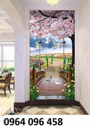 Tranh gạch 3d phòng khách - gạch tranh 3d phòng khách - FL43