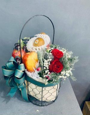 Giỏ quà tặng sinh nhật đơn giản - SH164