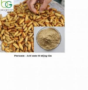 Cung cấp nguyên liệu Pluriamin - acid amin từ nhộng tằm