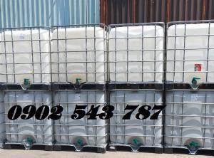 Tank 1000 lít IBC đựng hóa chất cho ngành công nghiệp giá rẻ
