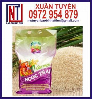 Cung cấp túi PA/PE đựng gạo 5kg tại Tiền Giang