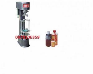 Máy siết nắp chai nhôm, máy đóng nắp chai nhựa, máy siết nắp chai rượu JGS890