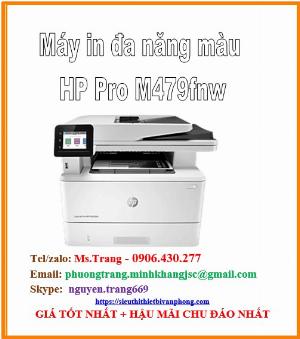 Máy in đa năng màu HP Color laserjet pro mfp m479fnw giá siêu cực tốt nhất