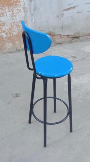 Ghế bar Sơn màu xanh