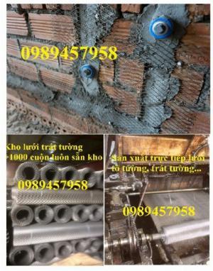 Phân phối lưới 5x5, 10x10, 25x25, Lưới 10x20, 15x30, Lưới chống nứt tường, Lưới chống thấm
