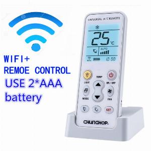 Điều khiển máy lạnh Chunghop K-390Ew Wifi Smart Universal Lcd điều hòa không khí A / C