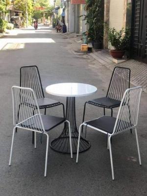 Ghế sắt cafe sân vườn giá rẻ