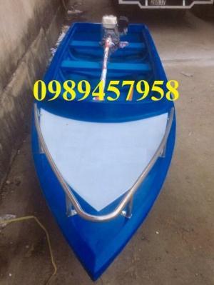 Thuyền nhựa chèo tay 2-3 người, thuyền câu cá cho 4 người, Thuyền chở hàng 1 tấn