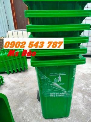 Cung cấp thùng rác 240 lít chất lượng tốt giá rẻ