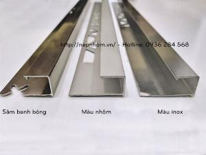 Vật liệu xử lý góc, nẹp góc vuông, nẹp bo góc, nẹp trang trí góc, nẹp góc YJ