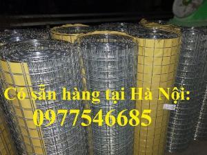 Lưới làm giàn lan, tấm lưới mạ kẽm vuông 5x5cm, lưới hàn mạ kẽm