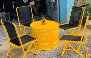 Bàn ghế xếp cafe giá rẻ