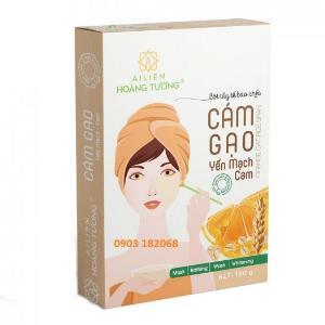Cám Gạo Yến Mạch Cam Ái Liên(Orange Oat Rice Bran) - Ái Liên Hoàng Tường