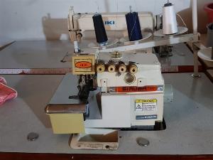 Cần thanh lý nhanh máy vắt sổ 2 kim 4 chỉ Siruba mô tơ liền trục chính hãng đài loan giá rẻ.