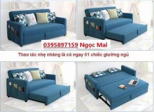Ghế Sofa giường kéo đa năng 3 IN 1 tiện ích | Nội thất Tín Đại Phát