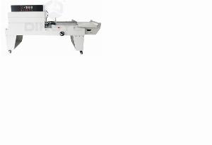 Máy cắt dán màng co chữ L, máy đóng gói màng co POF bán tự động