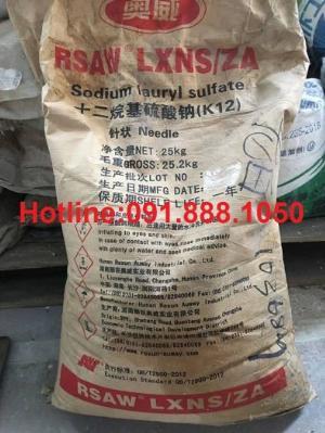 Bán SLS Trung Quốc- Sodium Lauryl Sulfate, Natri Lauryl Sulfate, bán chất tạo bọt SLS