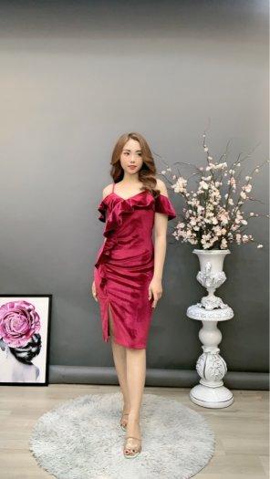 Đầm váy nữ Nhung thiết kế dáng body sang trọng SG