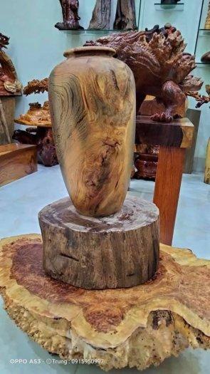 Ché rựu cần tây nguyên gỗ thủy tùng đa sắc