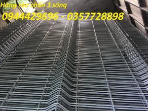 Hàng rào lưới thép hàn mạ kẽm sơn tĩnh điện D5 50x200