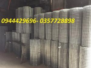 Lưới thép hàn mạ kẽm 2 ly ô 25x25 , 50x50 hàng sẵn kho
