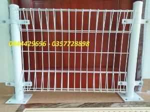 Hàng rào lưới thép D5 a 50x150, 50x200 chấn sóng mạ kẽm,hàng rào sơn tĩnh điện