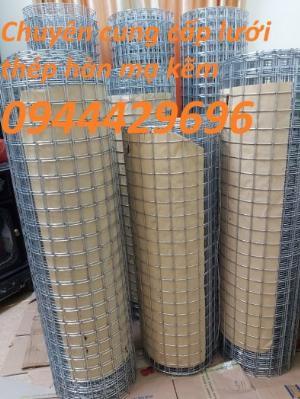 Lưới thép hàn ô vuông D3 a 50x50 mạ kẽm