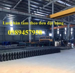 Nhà sản xuất lưới thép hàn phi 5 ô 100x100, D5 a 150x150, D5 a200x200, D6 a 250x250