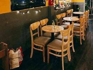 Bộ bàn ghế cafe cabin mặt trăng giá rẻ