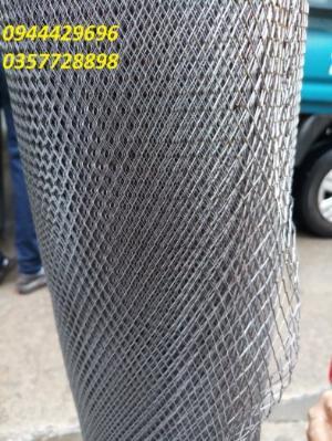 Lưới dập giãn, lưới trám dây 1.5 ly, 2ly
